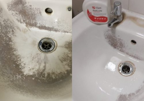 mould-a-way before and after